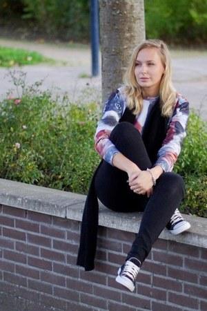 wibra jeans - Choies sweater - Yesstyle sneakers