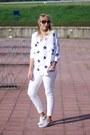 Esmara-jeans-takiyas-yesstyle-blouse-h-m-sneakers