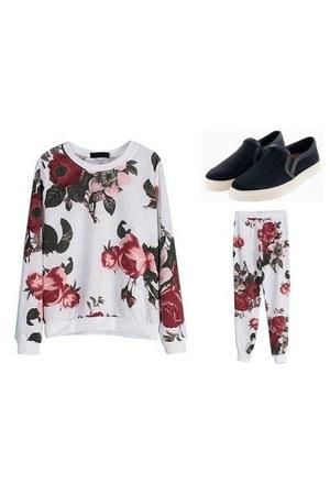 Choies shoes - Choies sweater - Choies pants