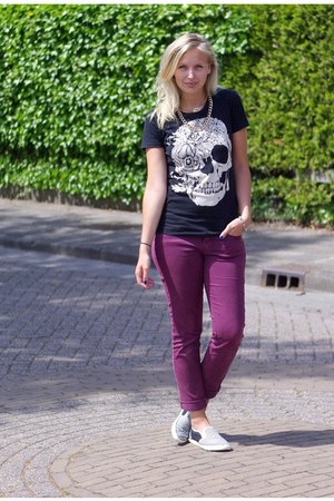 Choies shirt - Yesstyle shoes - H&M jeans