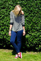 Frontrowshop shirt - PERSUNMALL jeans - Primark sneakers