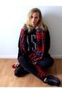 Yesstyle-sweater-vila-leggings-front-row-shop-scarf-yesstyle-sneakers