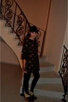 Ole dress - Bershka boots