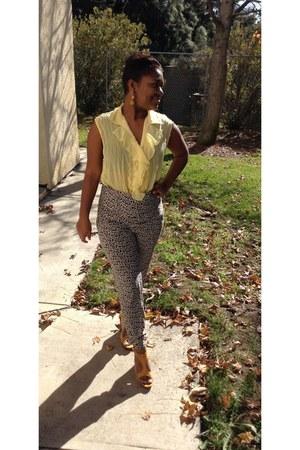 yellow Tashe pants