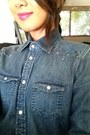Denim-shirt-american-eagle-shirt