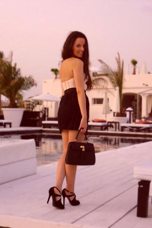 Zara heels - Aldo bag - H&M top - Mango skirt