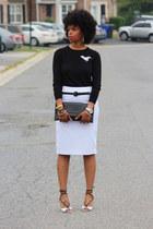 Old Navy sweater - skirt