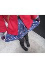 Ruby-red-forever21-coat-black-vans-boots-blue-forever21-skirt