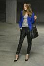 Blue-forever-21-jacket-black-leather-michael-kors-bag