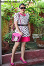 Pink-never-been-kissed-dress-sling-brera-art-lab-bag-payless-pumps