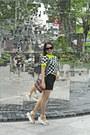 Sling-bag-desigual-bag-square-sunglasses-black-twill-skirt
