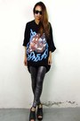 Black-2amstyles-purse-silver-glitter-tights-2amstyles-leggings