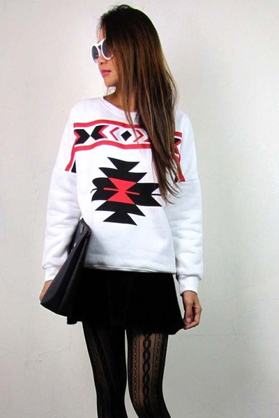 off white 2amstyles sweater - black 2amstyles purse