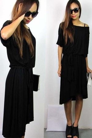 black 2amstyles dress