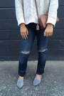 Blue-ava-citizens-of-humanity-jeans-off-white-525-america-sweater
