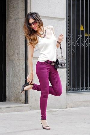 BLANCO pants - Chanel bag