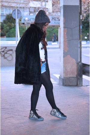 black el corte ingles coat