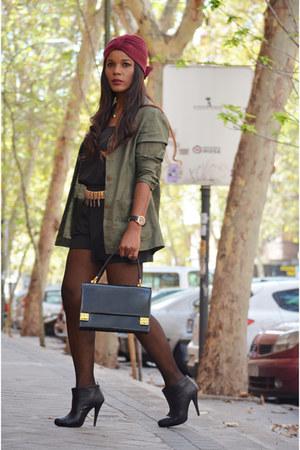dark khaki Zara blazer