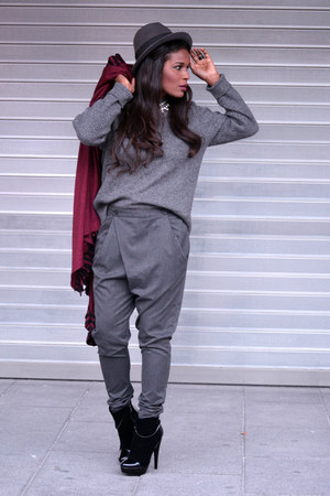 magenta vintage cape