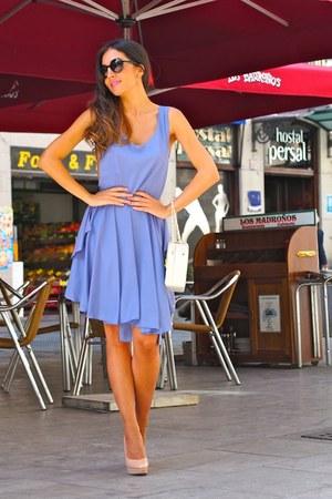 light pink Topshop shoes - violet kling dress