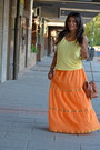 Yellow-h-m-blouse