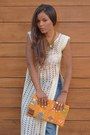 Carrot-orange-diy-bag-blue-miss-sixty-pants-cream-diy-blouse