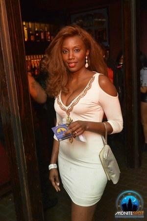 silver wristlet Victorias Secret bag