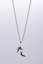 CONGATULATIONS 30- Symbol necklace- sterling silver 925 pendant on 40cm chain