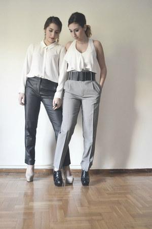 top - shirt - pants - heels