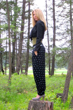 Forever 21 jacket - Mossimo t-shirt - vintage pants - vintage belt - fahrenheit 