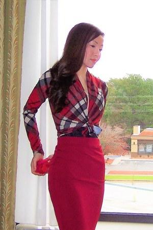 ruby red mode identified venus top - ruby red mode st venus skirt