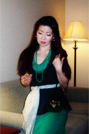 green tribute Saint Patricks VENUS dress - green pursette new design accessories