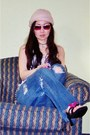 Maroon-rhinestones-fossil-sunglasses-coral-au-naturale-clinique-accessories