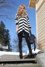 Black-gina-tricot-cardigan-black-dinsko-boots-black-zara-purse