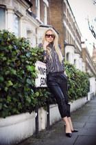 Marimekko shirt - Guess sunglasses - H&M pants - Stella McCartney pumps