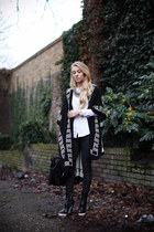 black Stella McCartney boots - black GINA TRICOT jeans - white COS shirt