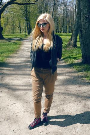 camel Zara pants