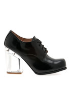 Jeffrey Campbell Bravery Oxfords in Black