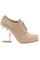 Jeffrey Campbell Bravery Oxfords in Nude