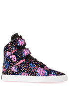 Supra Society Sneaker in Multi Berry