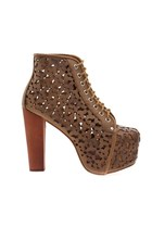 Jeffrey Campbell Lita Daisy in Tan