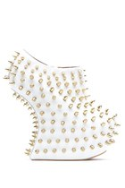 JEFFREY CAMPBELL SHADOW STUD - WHITE GOLD