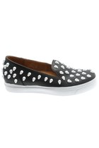 The Damned X Jeffrey Campbell Men's Skullpolli - Black/White