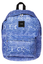 CLRS Slytherin Backpack in Cobalt