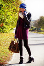 Knitted-george-sweater-chunky-laced-up-boots-vintage-pilot-jacket-leggings