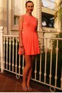 Salmon-topshop-dress