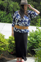 Old Navy hat - Old Navy shirt - kohls skirt - Burlington coat factory belt
