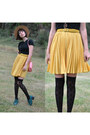 Skirt-and-boots-chicwish-boots-bunny-bag-pepaloves-bag