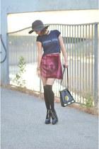 velvet skirt For Love and Lemons skirt