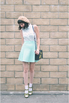 skirt Kerisma Knits skirt - jeff koons H&M bag - sandals Kork ease sandals